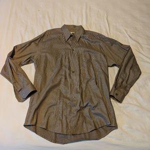 Ermenegildo Zegna Soft Men's Brown Check Dress
